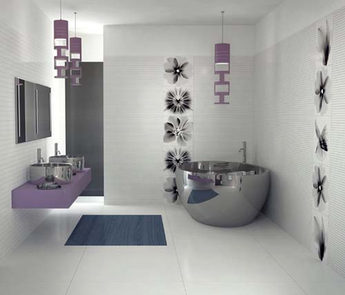 ... Satinless Bathtub,italian Wall And Floor Tiles ... Part 83